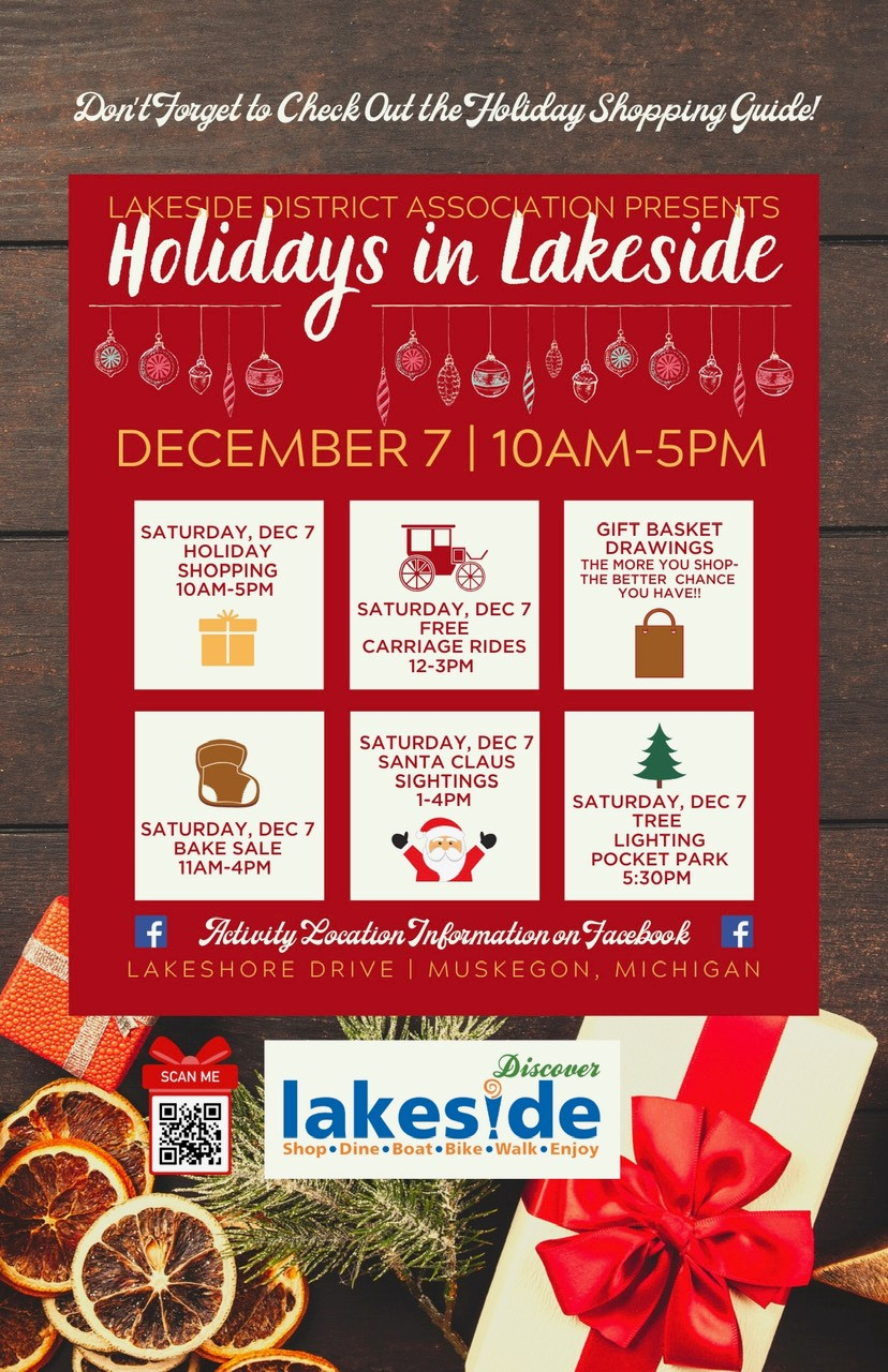 2019 Holidays in Lakeside